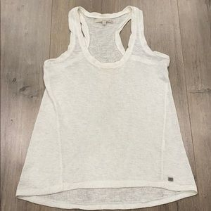 Monk and Lou - XXS linen white top